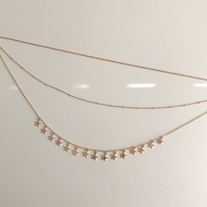 Francesca's Layered Star Necklace